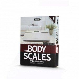 5687 Весы напольные Remax Smart Body Scales RT-S1