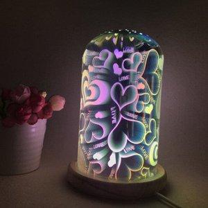 10552 Декоративный ночник с 3D эффектом