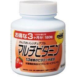 ORIHIRO MOST мультивитамины со вкусом клубники
