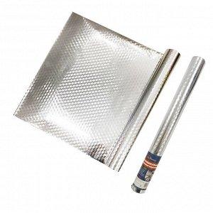 Самоклеящаяся пленка с алюминиевым покрытием / 40 см x 3 м