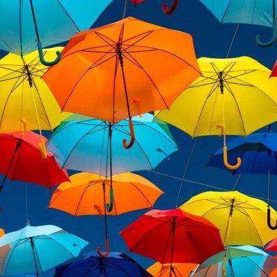 SUPER АКЦИЯ! Зонты от 262 рублей! Пригодится прозапас