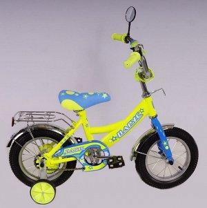 Велосипед Парус 12 д. GW-light (лимонный)
