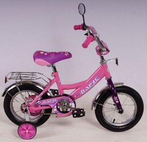 Велосипед Парус 12 д. GW-light (розовый)