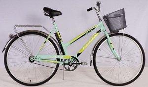 Велосипед Гамма 28 LADY (жен.) (голубой)