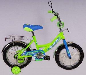 Велосипед Парус 14 д. GW-light (зеленый)