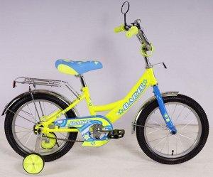 Велосипед Парус 16 д. GW-light (лимонный)
