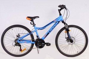 "Велосипед CONNOR JUNIOR MTB 24"" (B) FS 18SP RA25-251 (синий)"