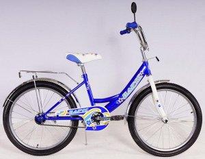Велосипед Парус 20 д. GW-light (синий,)