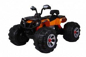 Квадроцикл на аккумуляторе для катания детей JS3188 (оранжевый)