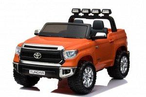 Машина на аккумуляторе для катания детей JJ2255 Toyota Tundra (оранж.)