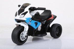 Мотоцикл на аккумуляторе для катания детей JT5188 BMW (синий)