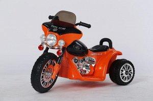 Мотоцикл на аккумуляторе для катания детей JT568 (оранжевый)