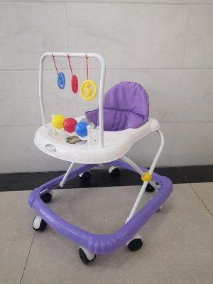 Ходунки детские W-615-04 (1/7) фиолетовые