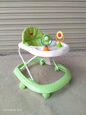 Ходунки детские W-619-01 (1/7) зеленые