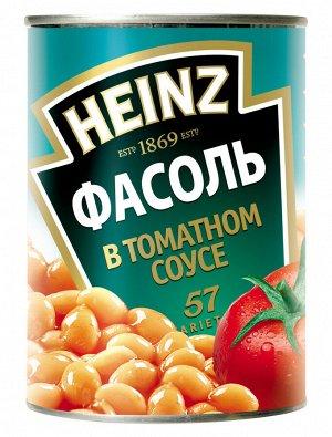 Фасоль белая в томатном соусе 415 гр Heinz