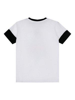 Комплект Состав: 95% хлопок, 5% эластан  Цвет: белый, синий, черный  Год: 2021 *Комплект: футболка, шорты *из качественного эластичного и приятного на ощупь трикотажа джерси *высокое содержание хло