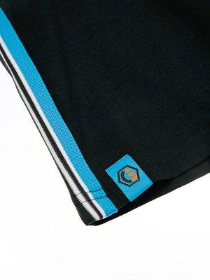 Комплект Состав: 95% хлопок, 5% эластан  Цвет: белый, черный, синий  Год: 2021 *Комплект: футболка, шорты *из качественного эластичного и приятного на ощупь трикотажа джерси *высокое содержание хло