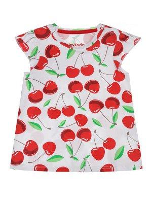 Комплект Состав: 95% хлопок, 5% эластан  Цвет: белый, красный  Год: 2021 *Комплект: футболка, шорты *из качественного эластичного и приятного на ощупь трикотажа *высокое содержание хлопка 95% *бла