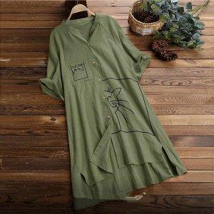 Рубашка Ткань Итальянский лайт  перед 90 см задний 107 см