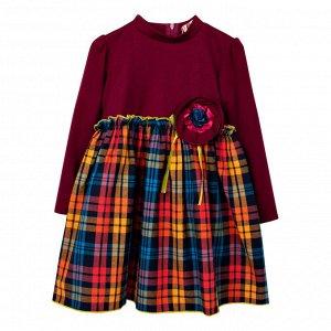 Платье Norm Клетка для девочки