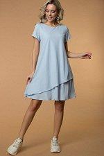 Платье Анетта цвет голубой (П-276-1)