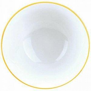 """""""Лимон"""" Пиала фарфоровая 320мл, д11,5х6,4см, с деколью, отво"""