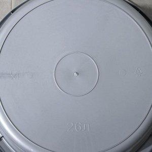 Таз круглый Альт-Пласт, 26 л, цвет МИКС