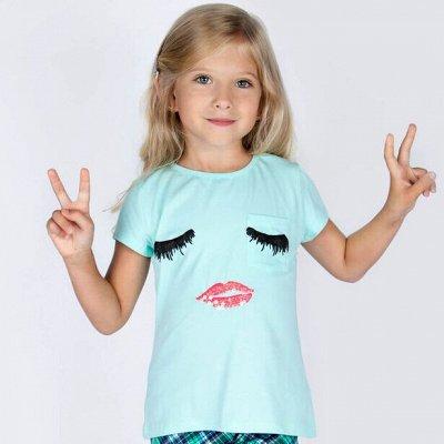 АБВГДЕЙКА моды.. Бюджетная одежда от 0 до 14 лет.   — Футболки, туники, майки, топы для девочек — Футболки