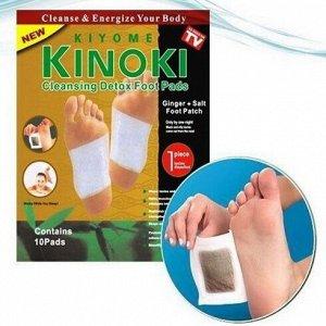 Пластырь-детокс для выведения токсинов с Имбирем Kinoki