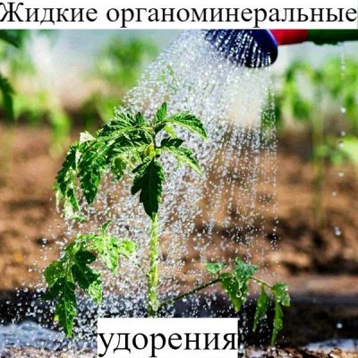 Питательные почвогрунты. Защита и удобрения.  — Жидкие органоминеральные удобрения — Удобрения и грунт