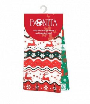 Набор из 2-х полотенец 35*63 Bonita, Новогодний базар