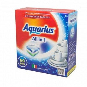 """Таблетки для ПММ """"Aquarius"""" ALLin1 (mega) 60 штук"""