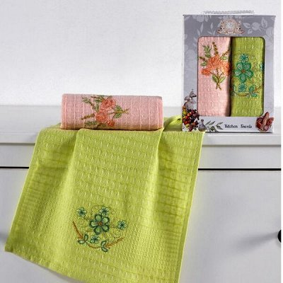 ОГОГО Какой Выбор Домашнего Текстиля — Кухонные полотенца (Наборы). — Кухонные полотенца
