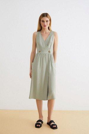 Платье жен. Belges 2 оливковый