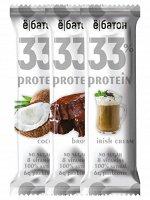 Протеиновые батончики Ё/батон 33% белка, 45гр