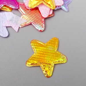 Фигурки из блестящей ткани Fancy Creative МИКС