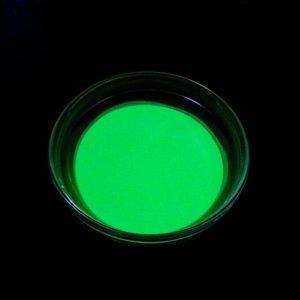 Декоративный пигмент LU*ART Pigment, 35 г, светящийся, жёлто-зелёный