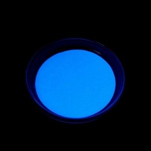 Декоративный пигмент LU*ART Pigment, 35 г, светящийся, небесно-голубой