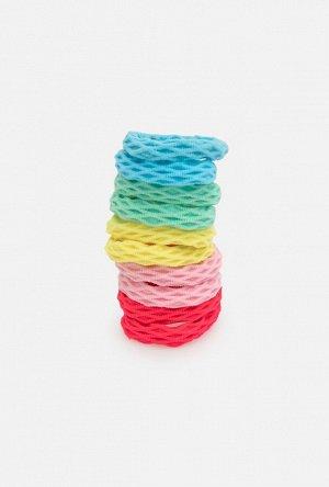 Набор из 10 резинок для волос дет. Adena цветной
