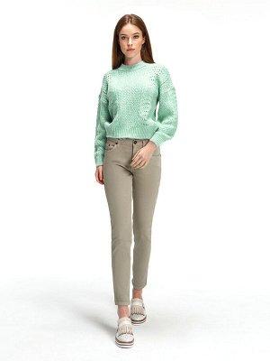 Женские джинсы укороченные VL558-S A.11 слоновая кость