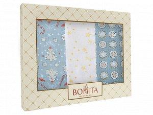 Подарочный набор из 3х полотенец Bonita, Имбирный пряник