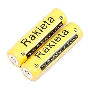 Литиевый аккумулятор 6800mA Rakieta