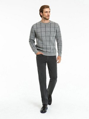 Мужские брюки (джинсы) VL 58-M1.1 93 темно-серый Рост 34