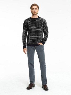 Мужские брюки (джинсы) VL 558-M1.1 G.15 темно-серый Рост 34