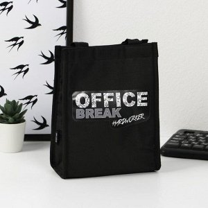 "Термосумка-шоппер ""OFFICE"", 25 х 19,5, х 8 см"