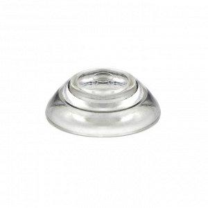 Термошайба мини из поликарбоната, d = 30 мм, прозрачная, набор 50 шт.