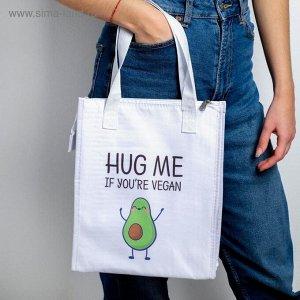 """Термосумка-шоппер """"Hug me"""", 30 х 25 х 10 см"""