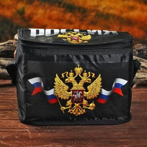 Термосумка с аккумулятором холода «Россия»,12 л