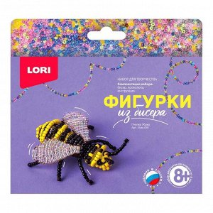 Набор для творчества LORI Фигурки из бисера Пчелка Жужа16
