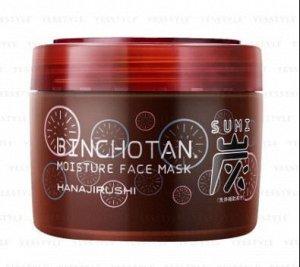 Binchotan Face Mask -увлажняющая и осветляющая маска с древесным углем, 220гр